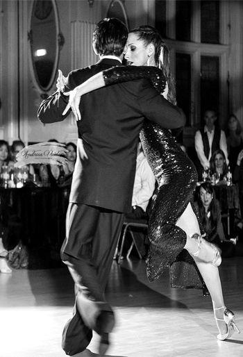 Tango Professionals David & Kim Performing