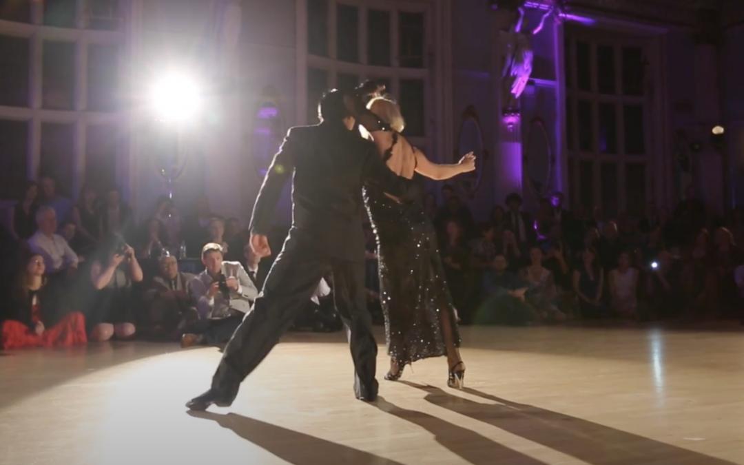 Dancing with Alejandra Mantiñan