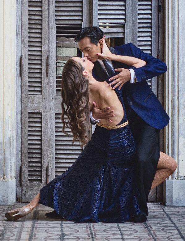 Argentine tango teachers David & Kim Benitez