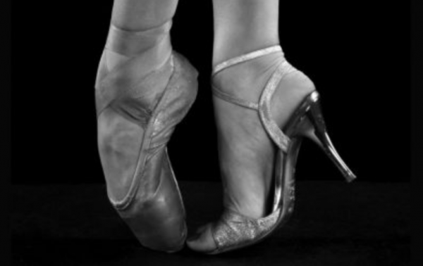 tango shoes and ballet shoes