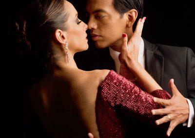 headshot of David & Kim in a tango shoot