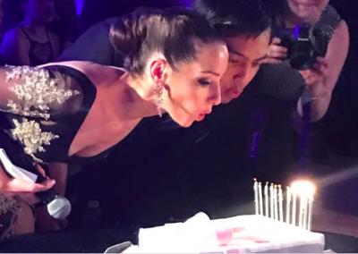 Celebrating our tango school's anniversary
