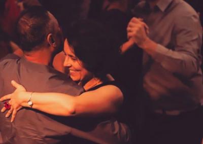 dancers enjoying a tango night out