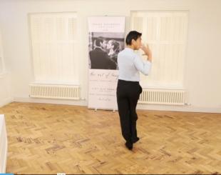 David teaching sacadas leaders technique