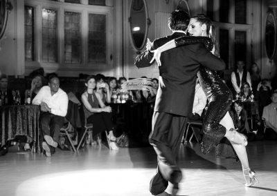 David & Kim performing at the Winter Ball