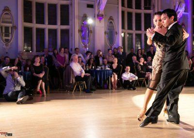 David & Kim performing at Finsbury Town Hall