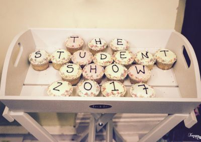 student show cupcakes 2017