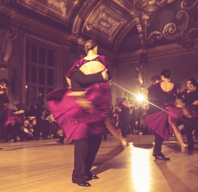 argentine tango student show