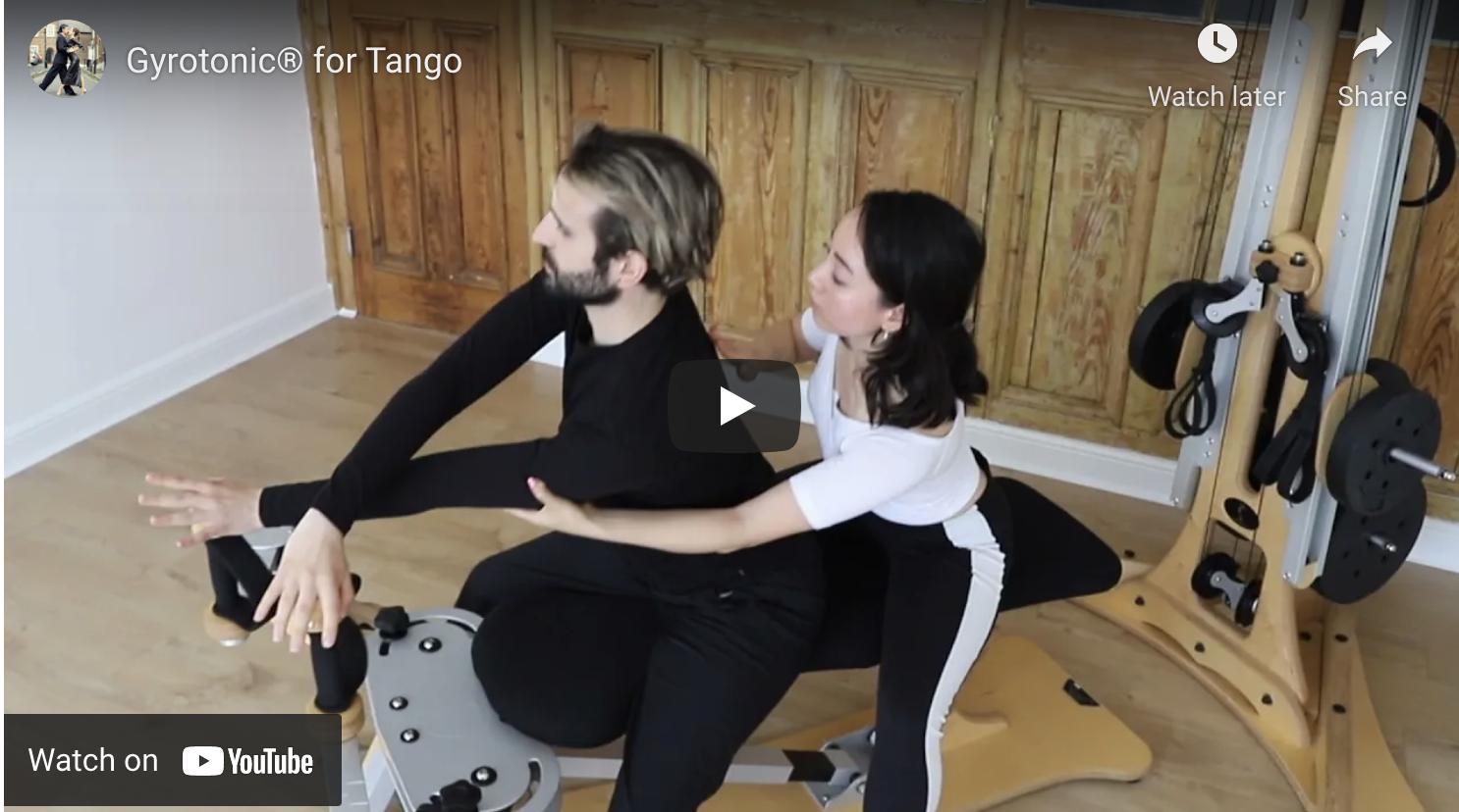 Gyrotonic for Tango