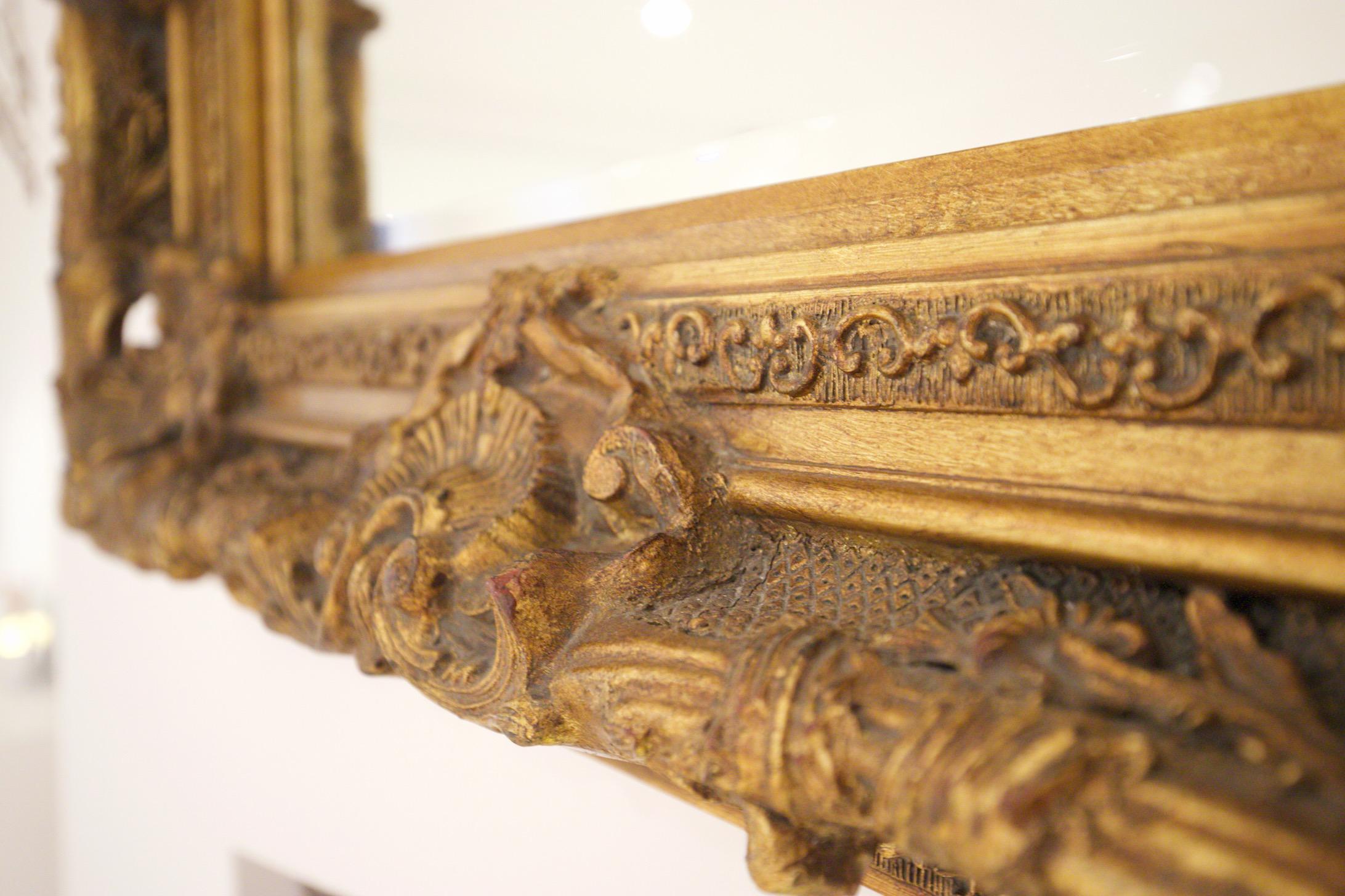 close up of studio mirror