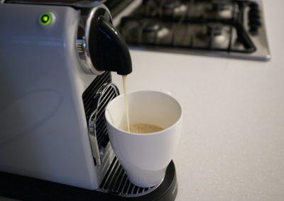 coffee machine in the studio